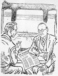 Illustratie in jubileumuitgave van De Kareoler 1950, pag. 32